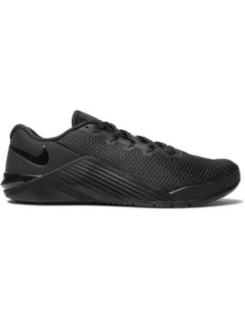 Metcon 5 Rubber Trimmed Mesh Sneakers by Nike Training