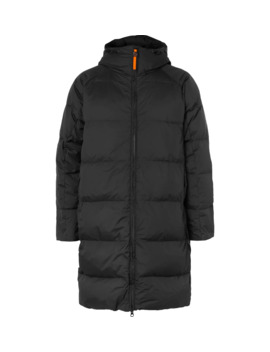 Quilted Nylon Ripstop Hooded Down Jacket by Aspesi
