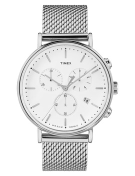 Fairfield Chronograph Mesh Strap Watch, 41mm by Timex