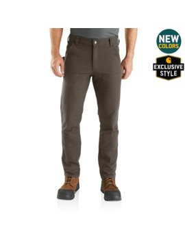 Rugged Flex® Straight Fit Duck Double Front Pants by Carhartt