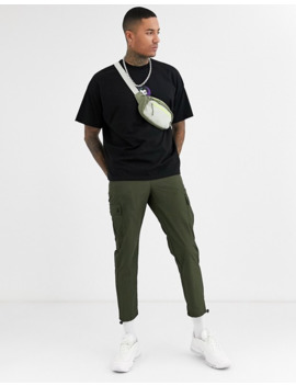 Asos Design – T Shirt Oversize Z Nadrukiem Jokera Z Przodu I Na Plecach by AsosDesign