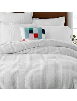 Cotton Cloud Jersey Duvet Cover + Shams by West Elm