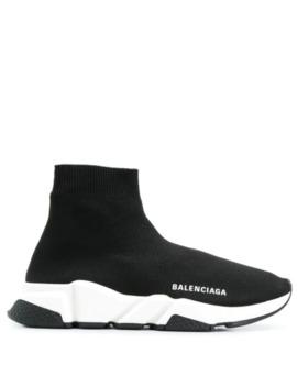 Strikket Speed Sneakers by Balenciaga