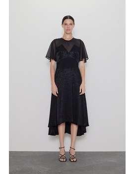 Kombinert Asymmetrisk Kjole by Zara
