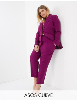 Asos Design Curve Pop Suit In Purple by Asos