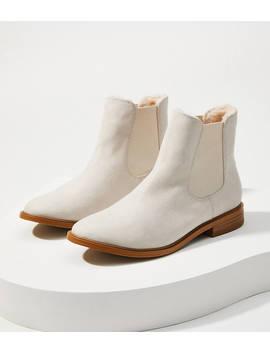 Faux Fur Lined Chelsea Ankle Boots by Loft