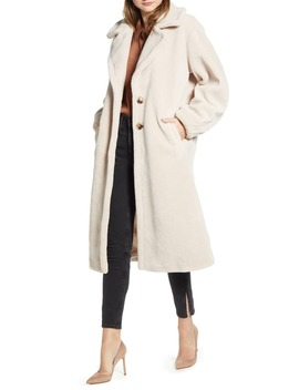 Faux Shearling Coat by Something Navy