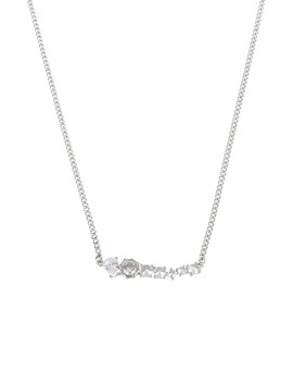 Crystal Bar Necklace by Allsaints