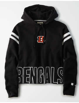 Tailgate Women's Cincinnati Bengals Cropped Hoodie by American Eagle Outfitters