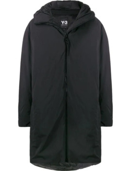 Hooded Padded Coat by Y 3