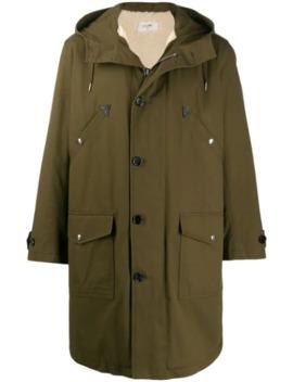 Oversized Parka Coat by Celine