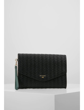 Meadows Raffia Envelope Pouch   Clutch by Ted Baker