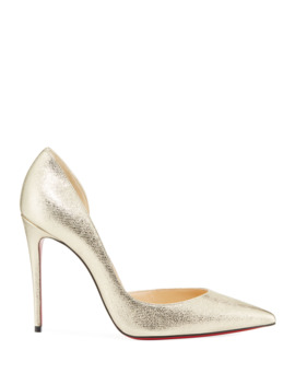 Iriza Metallic Red Sole Pumps by Christian Louboutin