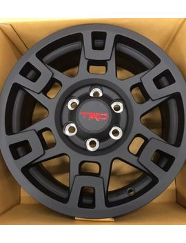"""Complete Set (4) 17"""" Black Trd Pro Wheel Toyota Tacoma, 4 Runner, & Fj Cruiser by Toyota/Trd"""