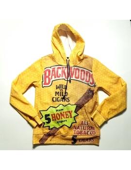 Backwoods  Wild N Mild Cigar Hoodie Sweater by Unbranded