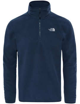 100 Glacier 1/4 Zip Fleece Pullover by The North Face