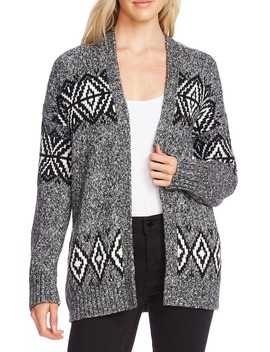 Fair Isle Cardigan by Vince Camuto