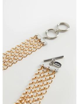 Chain Appliqué Necklace by Mango
