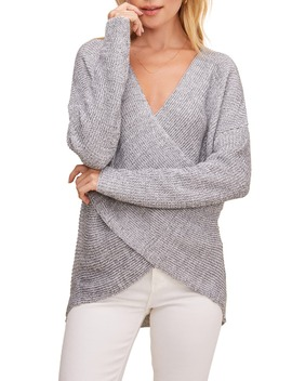 Wrap Front Sweater by Astr The Label
