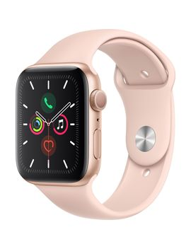 Apple Watch 5, Gps, Carcasa Gold Aluminium 40mm, Pink Sand Sport Band by Apple