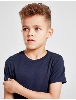 Tommy Hilfiger Essential Small Logo T Shirt Children by Jd Sports