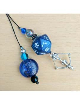 Elvish D20 Rpg Dice Gift, Unique Dungeons And Dragons Bookmark Thong, Dnd Gift For Him, Tabletop Gamer Gift, Geeky Girlfriend Gift For Her by Etsy