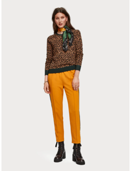 Pullover Mit Leoparden Print by Scotch&Soda