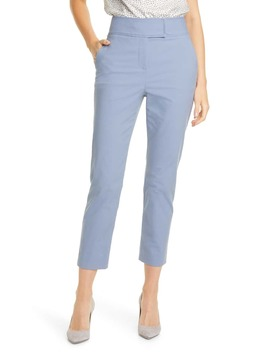 Stretch Cotton Suit Pants by Tailored By Rebecca Taylor
