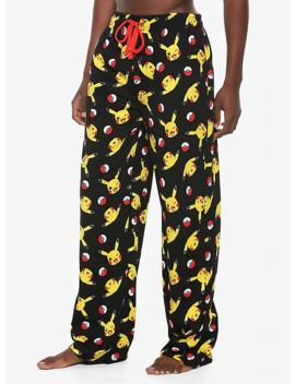 Pokemon Pikachu & Pokeballs Pajama Pants by Hot Topic