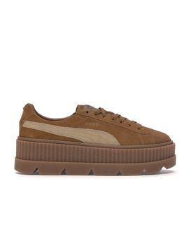 Puma Cleated Creeper Rihanna Fenty Golden Brown (W) by Stock X