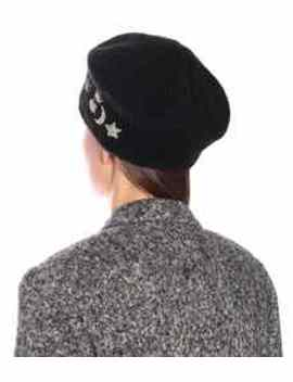 Exclusive To Mytheresa – Embellished Mohair Beret by Jennifer Behr