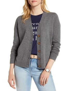 Wool & Cashmere Cardigan by 1901