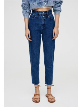Mit Passe   Jeansy Slim Fit by Pull&Bear