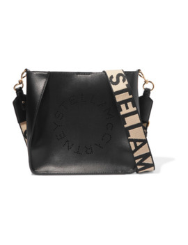 Perforated Vegetarian Leather Shoulder Bag by Stella Mc Cartney
