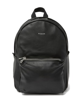 Mini Lorimer Leather Backpack by State Bags