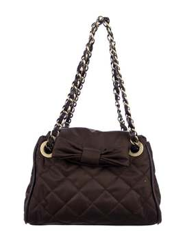 Quilted Nylon Flap Bag by Moschino Cheap And Chic
