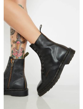 Onyx 1460 Laceless Boots by Dr. Martens