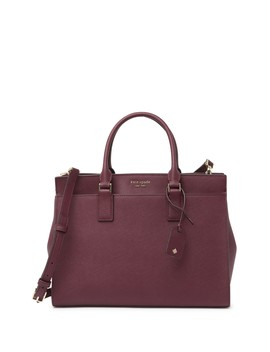 Cameron Large Leather Satchel by Kate Spade New York