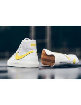 Nike Blazer Mid 77 Vntg   White/Opti Yellow by Politics