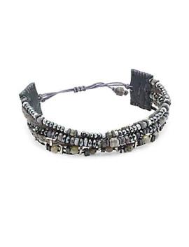 Labradorite Mix Pull Bracelet by Chan Luu