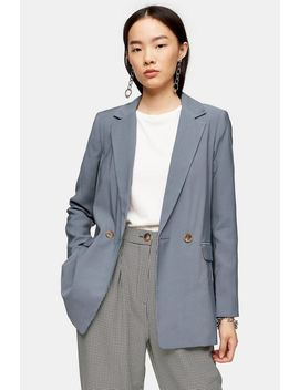 Double Breasted Relaxed Blazer by Topshop