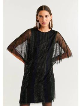 Crystal Beaded Dress by Mango