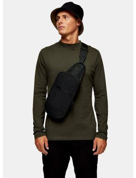 Forest Green Turtle Neck Long Sleeve T Shirt by Topman