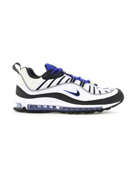 Air Max 98 White Black Racer Blue by Stock X