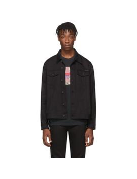 Black Rebirth Denim Jerry Dry Jacket by Nudie Jeans