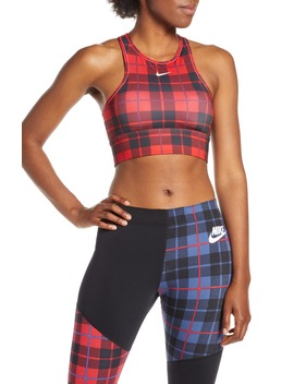 Everything Plaid Sports Bra by Nike