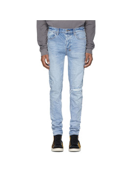 Blue Van Winkle The Streets Stitched Jeans by Ksubi
