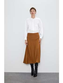 A Line Midi Skirt View All Skirts by Zara