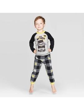 Toddler Boys' Batman Pajama Set   Black by Batman