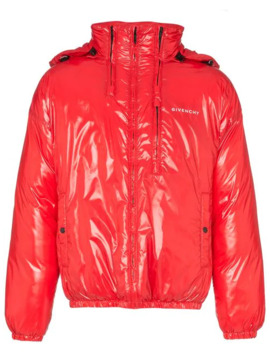 High Shine Hooded Puffer Jacket by Givenchy